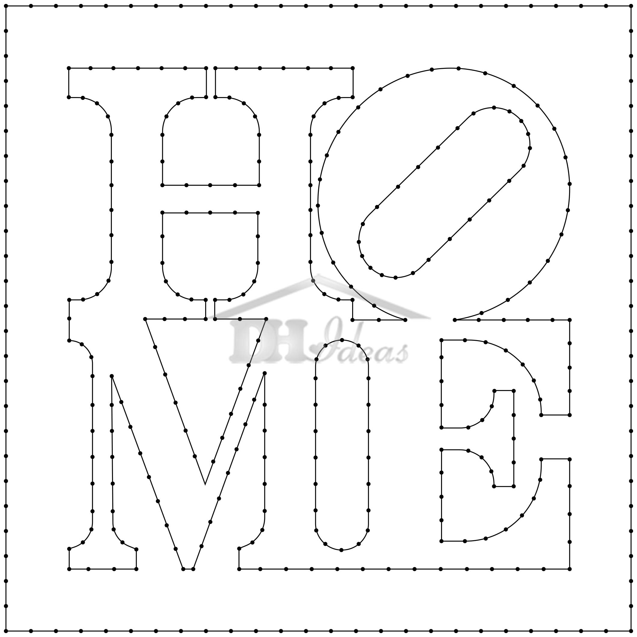 photograph relating to Free Printable String Art Patterns With Instructions named 30 Free of charge Printable String Artwork Practices (Guide Obtain)