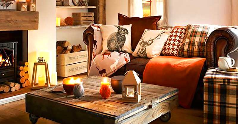 5 Quick tips to add autumn decor to your living room #falldecor #falldecorideas #livingroom #autumndecor #homedecor #decorhomeideas