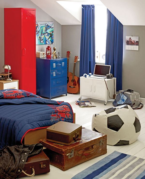 Teenage boy's room #bedroom #homedecor #decoratingideas #furniture #decorhomeideas