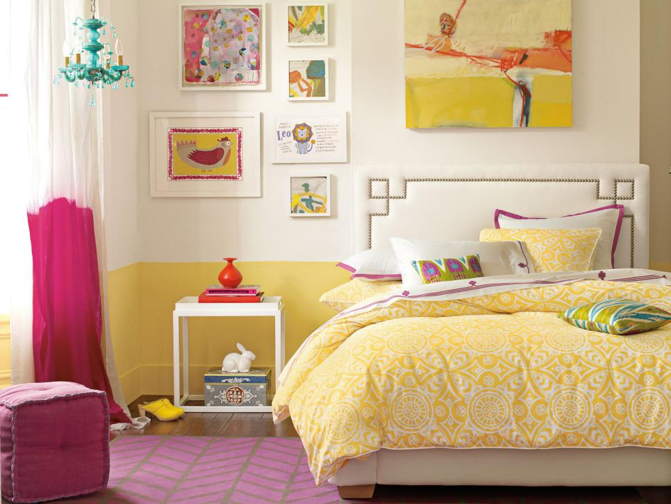 Teenage girl's room #bedroom #homedecor #decoratingideas #furniture #decorhomeideas
