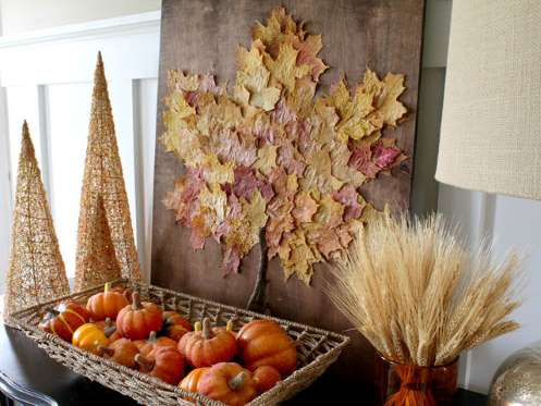 Fall-inspired display #falldecor #falldecorideas #livingroom #autumndecor #homedecor #decorhomeideas