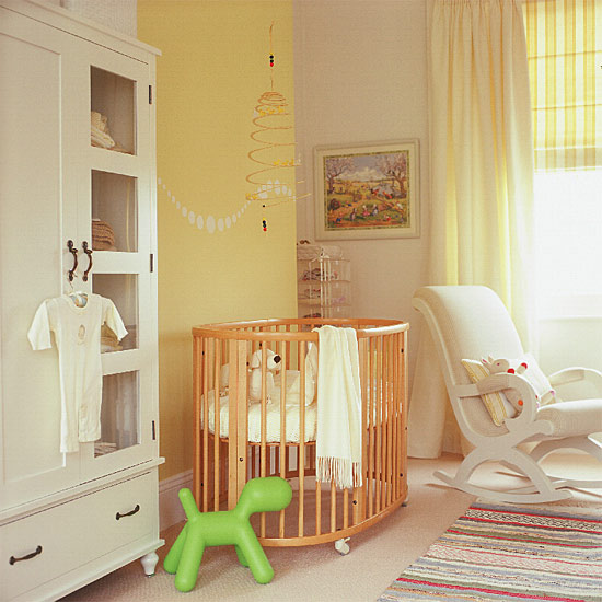Gender-neutral nursery #nursery #bedroom #homedecor #decoratingideas #furniture #decorhomeideas