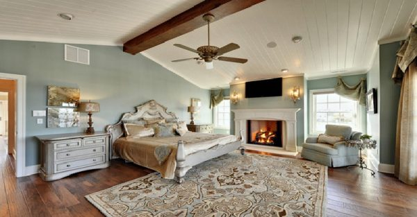 Rococo-Inspired Bedrooms