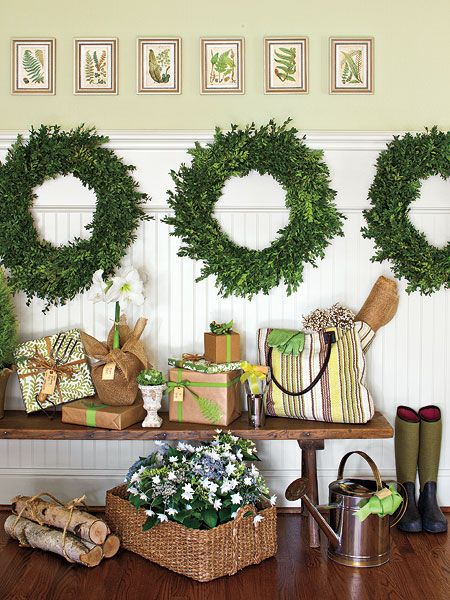 Trio of wreaths
