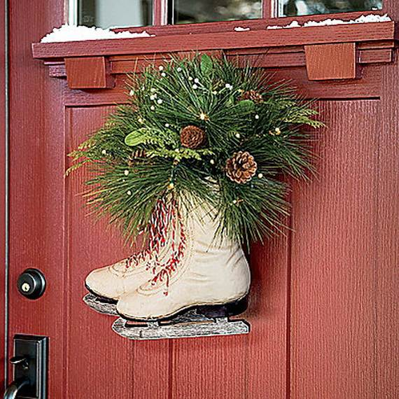 Alternative to Christmas wreaths