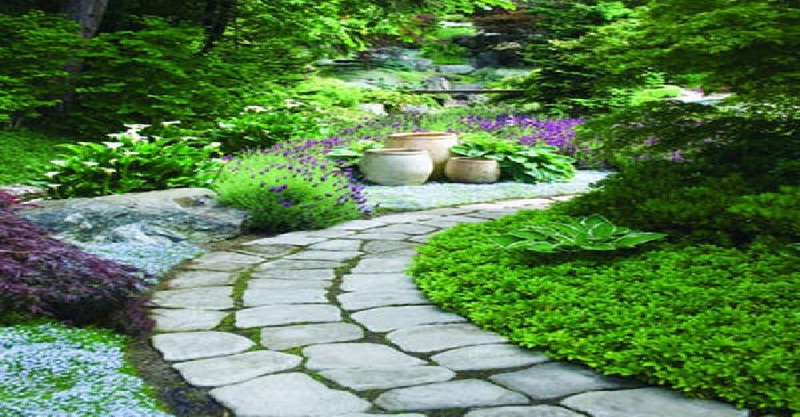 Designed For Practical Or Decorative Reasons, Pathways Add A Sense Of  Completeness, Dimension, And Motion To The Garden. Furthermore, When With  Curving ...