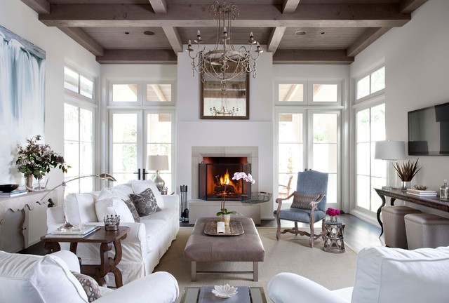 Stunning coffered ceiling
