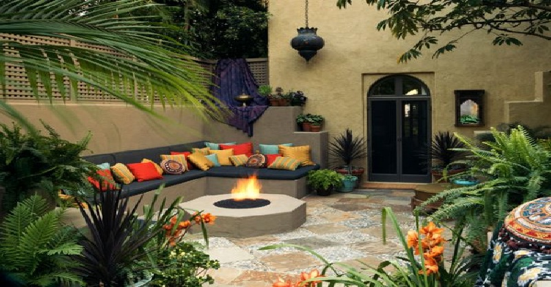 Enchanting patio