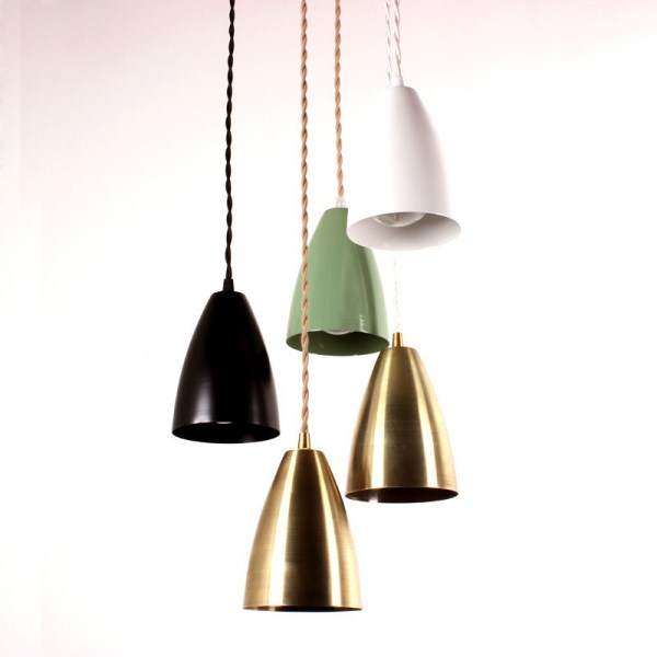 Compact pendant lights are on-trend option.