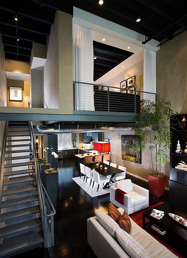 Although the popular perception is that mezzanine designs are extravagant,  any loft space with a visual contact with the lower level and a shared  ceiling, ...