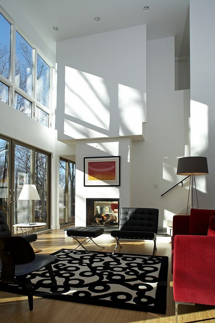 How To Decorate A House With High Ceilings
