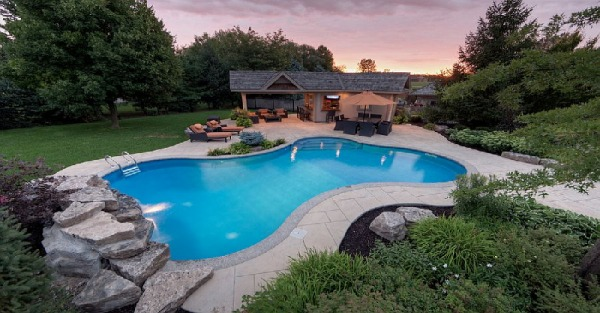 Outdoor Design Trend: Fabulous Concrete Pool Decks