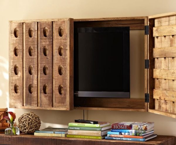 Riddling Rack TV Cover #tvcover