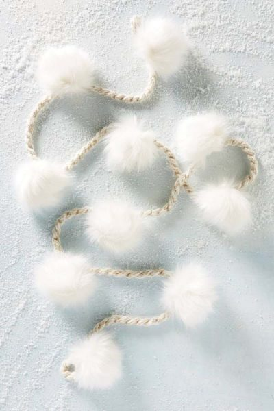 Delicate and beautiful fluffy garland #diy #Christmas #homedecor #decorhomeideas