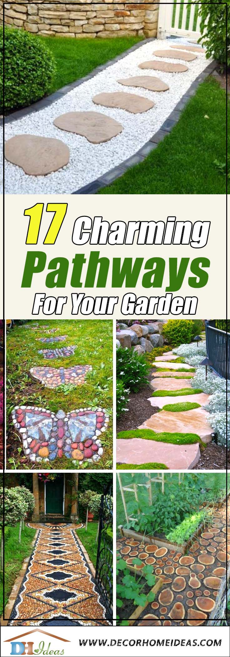 17 Charming Pathways To Make Your Garden The Best In The Neighborhood |  Decor Home Ideas