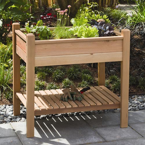 Phat Tommy Rectangular Raised Garden Planter #garden #raisedbed #planters #diy #landscaping #flower #vegetables #guide #decorhomeideas
