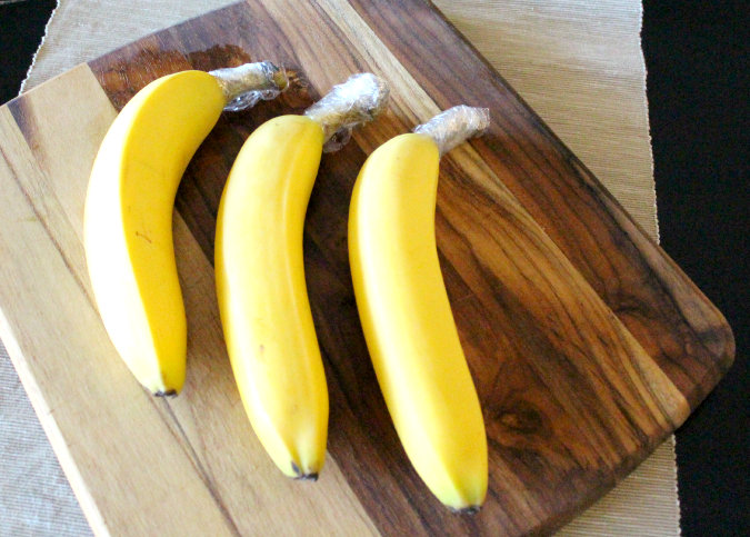 How to keep bananas fresh #storage #food #tips #kitchen #decorhomeideas