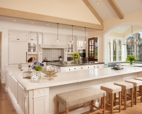 21 Kitchen Islands With Seating You'll Never Stop Dreaming ...
