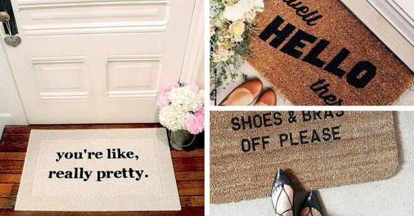 15 Conversation Starters Doormats To Reflect Your Style