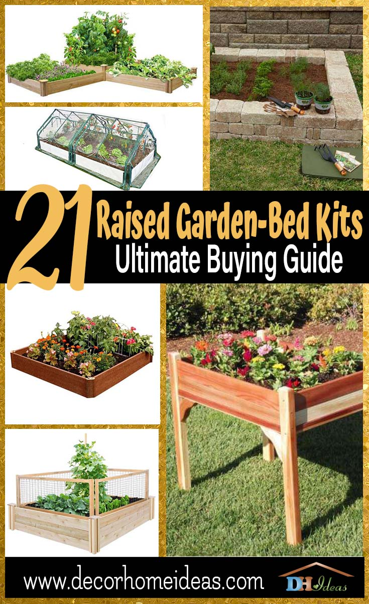 21 Raised Garden Bed Kits Ultimate Buying Guide | Best raised garden beds available on the marker to make your next diy garden project awesome #garden #raisedbed #planters #diy #landscaping #flower #vegetables #guide #decorhomeideas