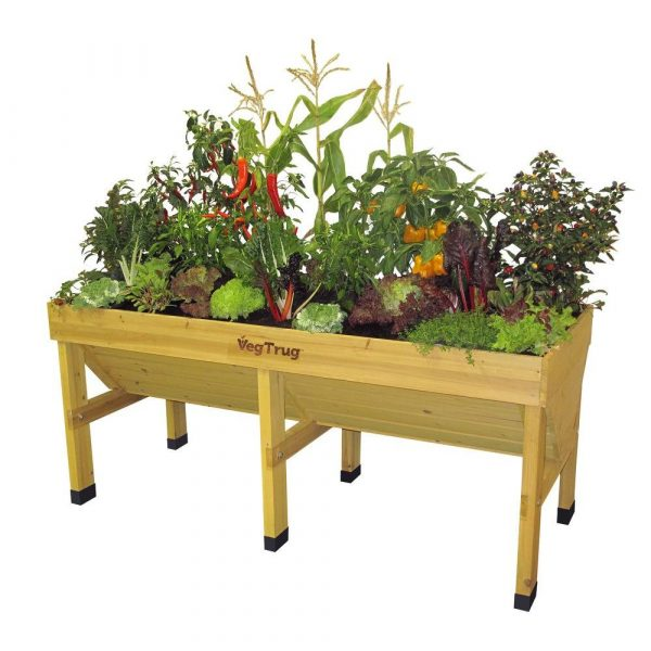 Built from sustainable fir #garden #raisedbed #planters #diy #landscaping #flower #vegetables #guide #decorhomeideas