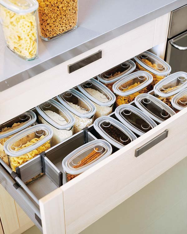 Drawer organization uniform box #kitchen #storage #organize #organization #decor #homedecor #decoratingideas #decorhomeideas