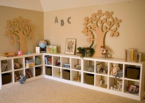 Kids playroom simple storage ideas #diy #storage #organization #organize #decoratingideas #homedecor #decorhomeideas