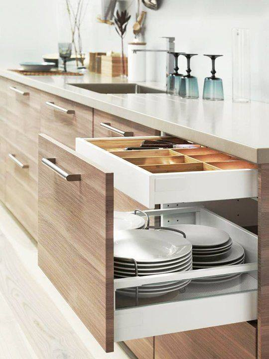 Kitchen Cabinet Sysytem #kitchen #storage #organize #organization #decor #homedecor #decoratingideas #decorhomeideas