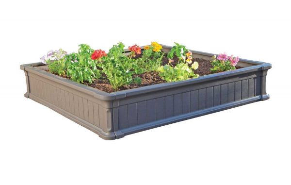 Low maintenance weather-resistant design #garden #raisedbed #planters #diy #landscaping #flower #vegetables #guide #decorhomeideas