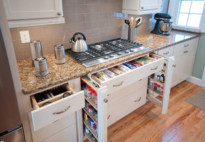 Neat and Tidy kitchen storage double sided solution #kitchen #storage #organize #organization #decor #homedecor #decoratingideas #decorhomeideas