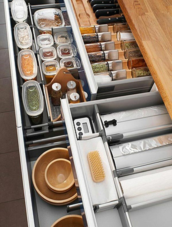 Practical idea for kitchen storage #kitchen #storage #organize #organization #decor #homedecor #decoratingideas #decorhomeideas