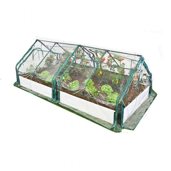 Raised-Bed-with-Two-Greenhouses