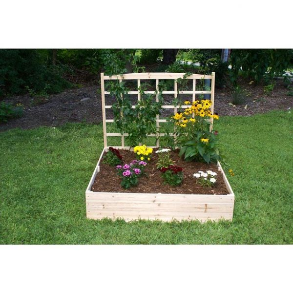 Unique design #garden #raisedbed #planters #diy #landscaping #flower #vegetables #guide #decorhomeideas