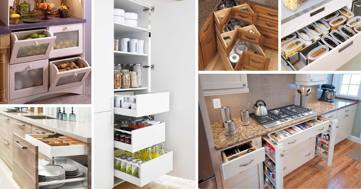 Amazing And Smart Tips For Kitchen Decorating Ideas: 12 Undoubtedly Smart Kitchen Organization Ideas