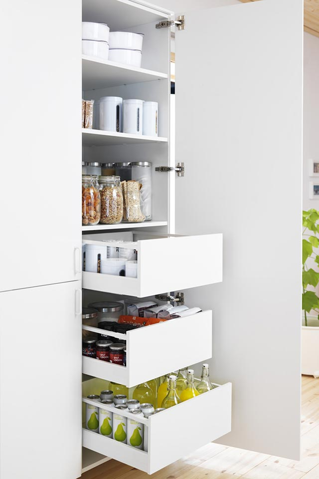 Vertical Storage kitchen solution #kitchen #storage #organize #organization #decor #homedecor #decoratingideas #decorhomeideas