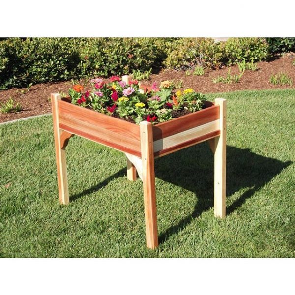 Elevated bed #garden #raisedbed #planters #diy #landscaping #flower #vegetables #guide #decorhomeideas