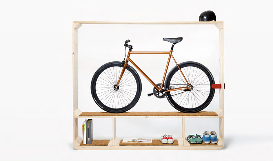 Cool bike storage furniture #diy #storage #organization #organize #decoratingideas #homedecor #decorhomeideas