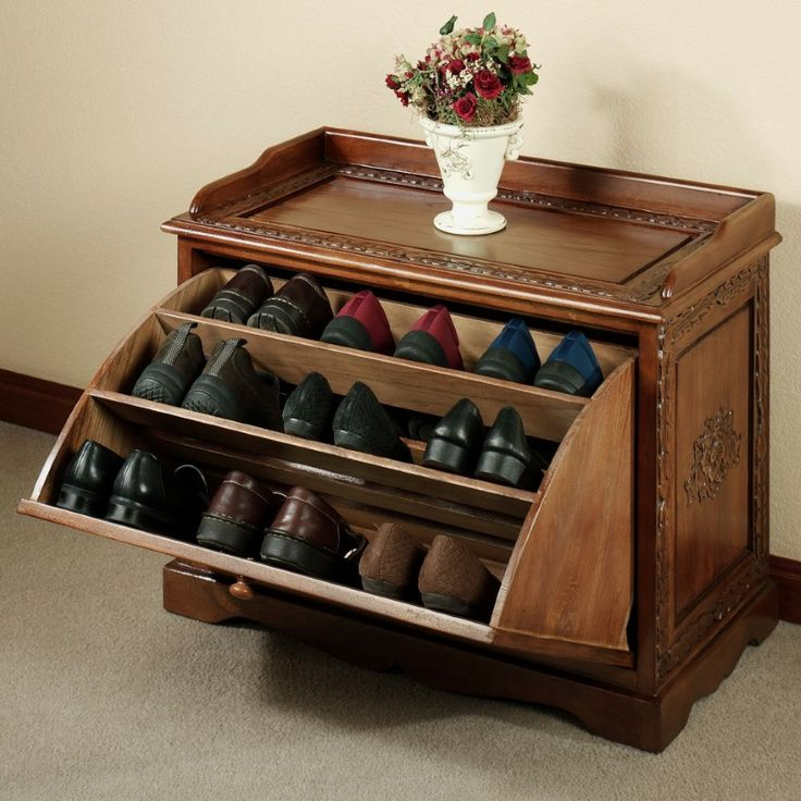 Creative shoes pull-out storage ideas #diy #storage #organization #organize #decoratingideas #homedecor #decorhomeideas