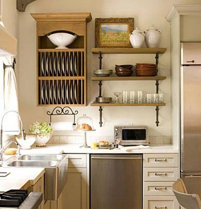 Kitchen organization shelves #kitchen #storage #organize #organization #decor #homedecor #decoratingideas #decorhomeideas