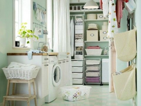 Laundry room storage and organization ideas #diy #storage #organization #organize #decoratingideas #homedecor #decorhomeideas #laundryroom #laundrytips