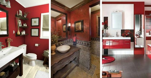 10 Vibrant Red Bathrooms to Make Your Decor Dazzle