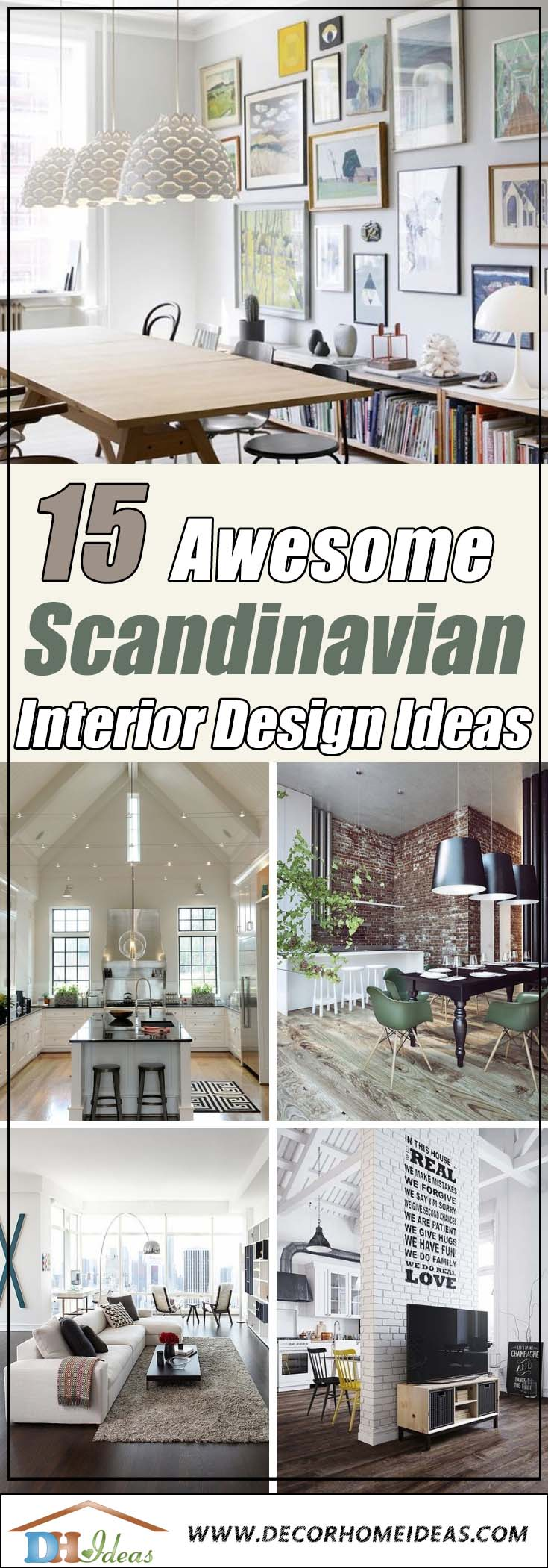 15 Functional and Cozy Scandinavian Interior Design Ideas | Interior design and ideas from Scandinavia, simple and beautiful. #homedecor #design #interiordesign #scandinavian #decoratingideas #decorhomeideas