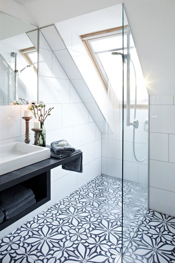 bathroom Scandinavian interior design