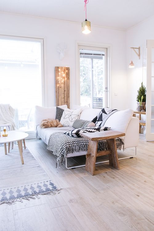 Bohemian Scandinavian design idea #homedecor #design #interiordesign #scandinavian #decoratingideas #decorhomeideas