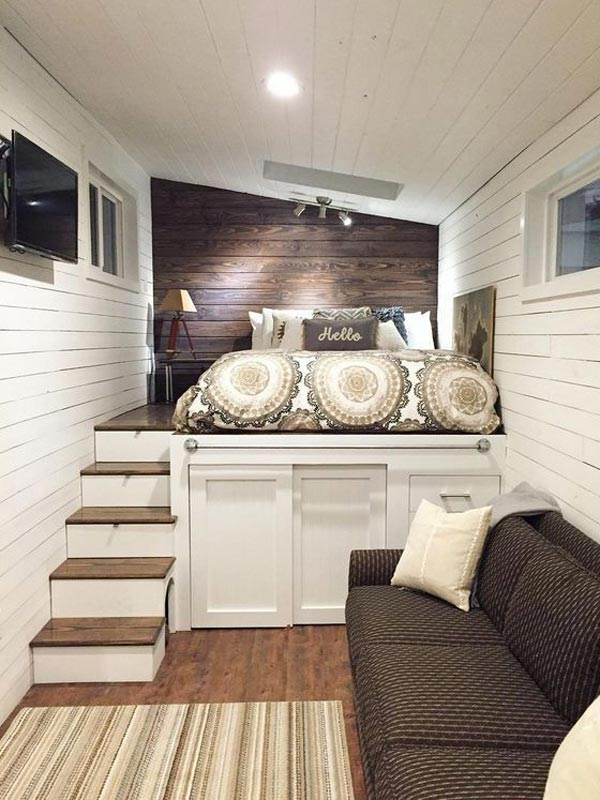 Cozy tiny house design ideas