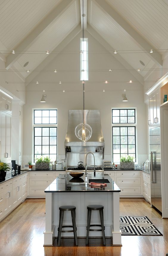 dream Scandinavian kitchen idea