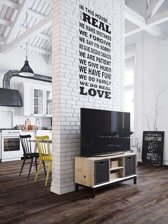 Loft Apartment Scandinavian Interior Design