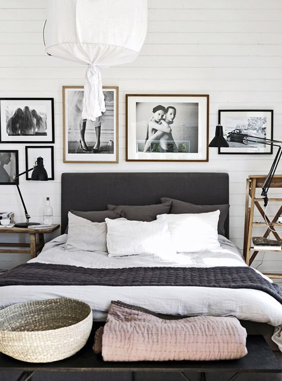 Scandinavian bedroom interior design #homedecor #design #interiordesign #scandinavian #decoratingideas #decorhomeideas
