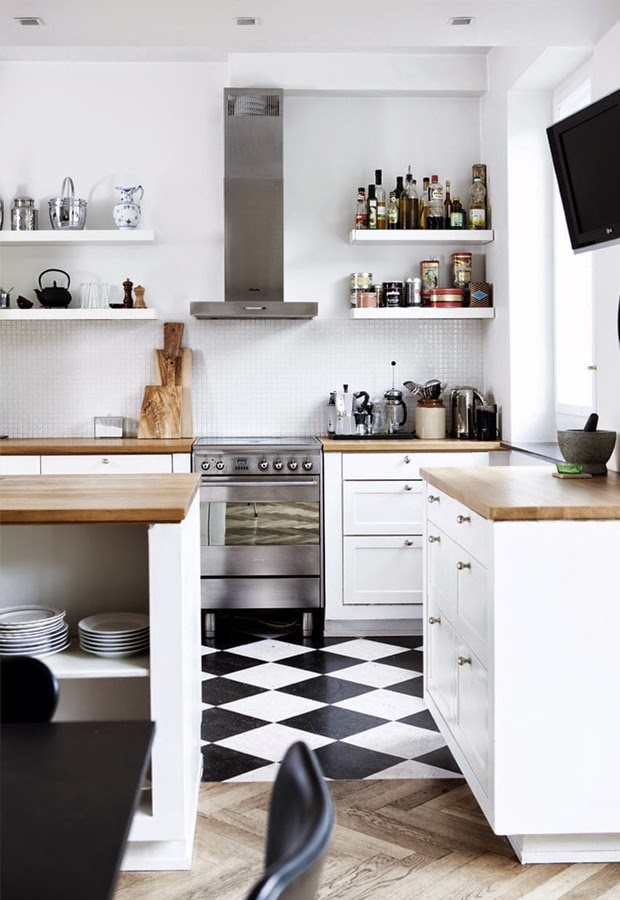 Scandinavian kitchen design idea