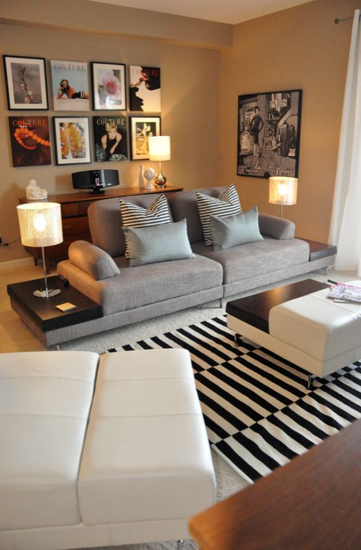 Small living place tips for living room